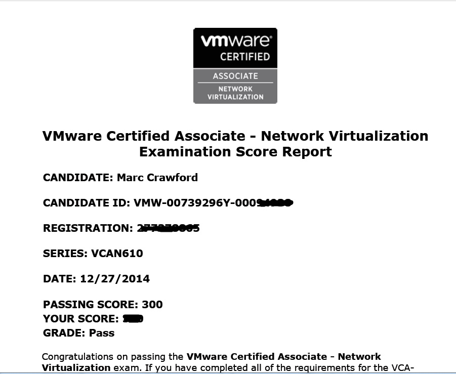 Vca Nv Exam Experience Marc Crawford